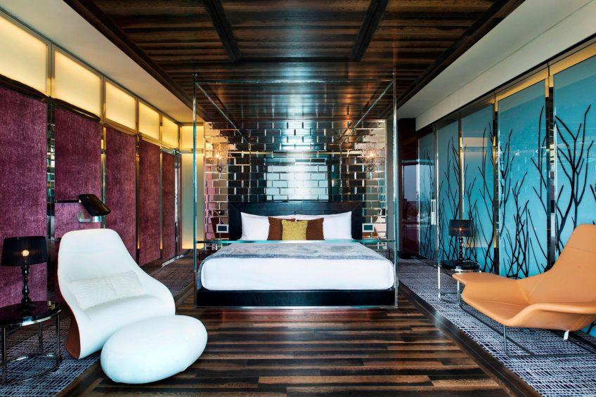 W Singapore Sentosa Cove Luxury Hotel - Singapore - Extreme WOW Suite Bedroom