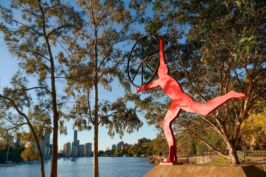 W Brisbane Luxury Hotel - Brisbane, Australia - Kangaroo Point Art