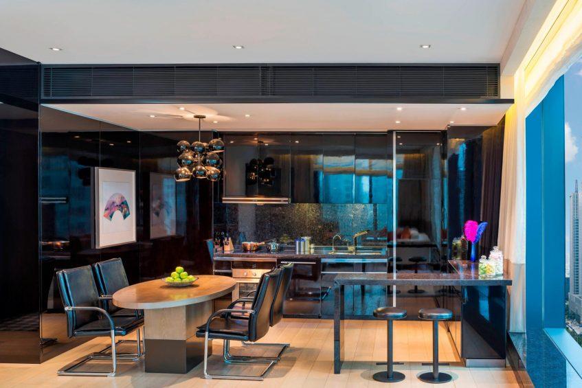 W Guangzhou Luxury Hotel - Tianhe District, Guangzhou, China - Apartment Guest Room