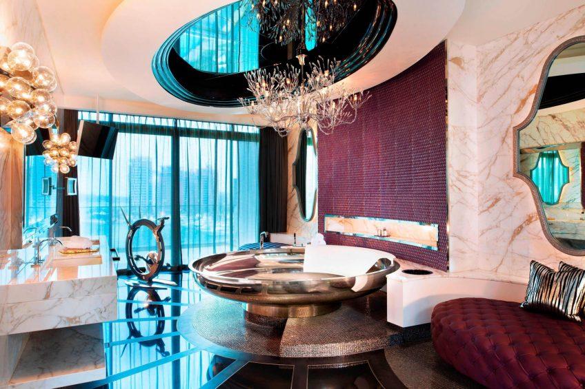 W Singapore Sentosa Cove Luxury Hotel - Singapore - Extreme WOW Suite Bathroom