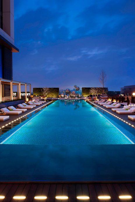 W Taipei Luxury Hotel - Taipei, Taiwan - WET Pool