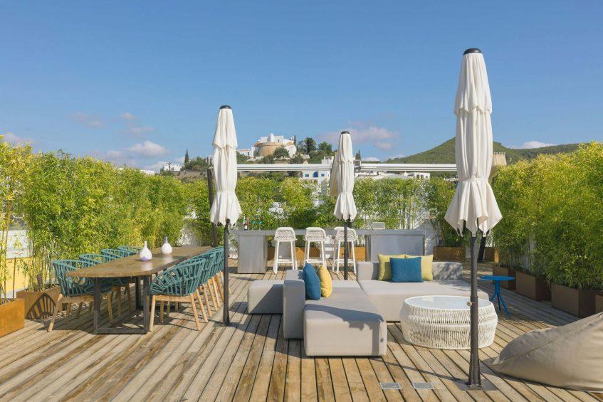 W Ibiza Luxury Hotel - Santa Eulalia del Rio, Spain - E WOW Terrace