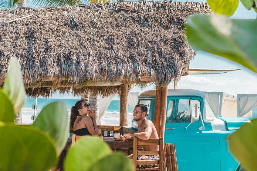 W Punta de Mita Luxury Resort - Punta De Mita, Mexico - Chevycheria Hut