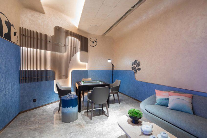 W Chengdu Luxury Hotel - Chengdu, China - Play Lounge Room
