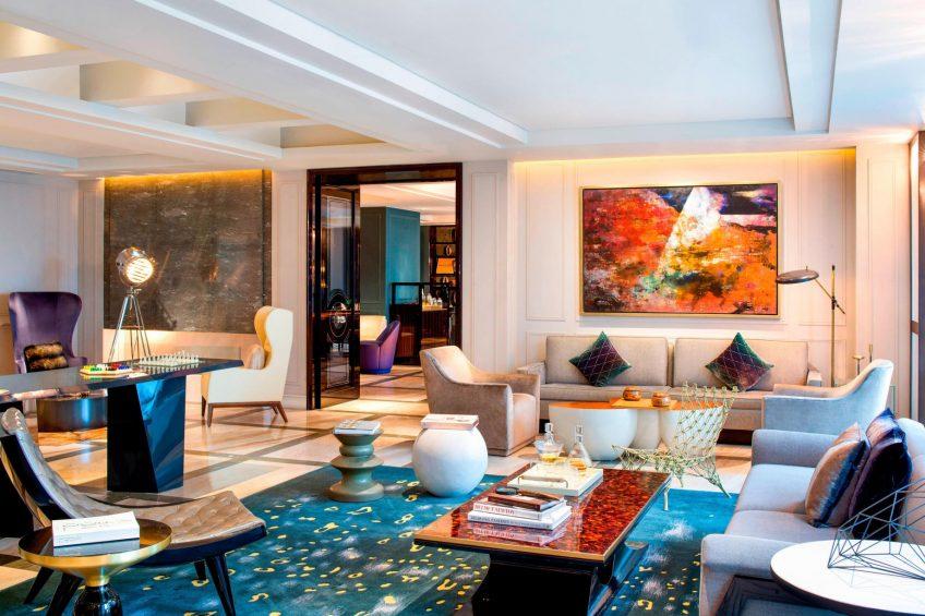 W Guangzhou Luxury Hotel - Tianhe District, Guangzhou, China - Club Lounge