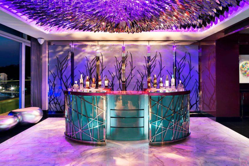 W Singapore Sentosa Cove Luxury Hotel - Singapore - Extreme WOW Suite Bar