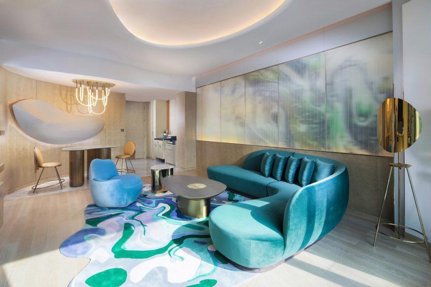 W Chengdu Luxury Hotel - Chengdu, China - Fantastic Suite Living Area