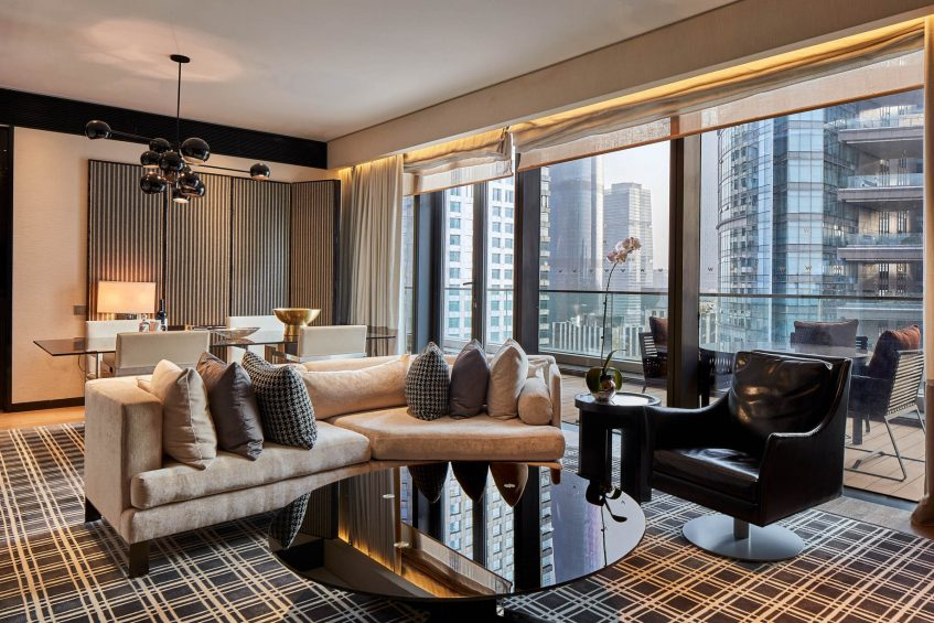 W Guangzhou Luxury Hotel - Tianhe District, Guangzhou, China - Marvelous Suite Living Room
