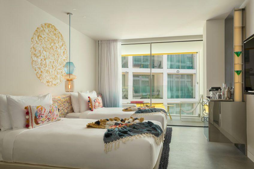 W Ibiza Luxury Hotel - Santa Eulalia del Rio, Spain - Fabulous Twin Guest Room