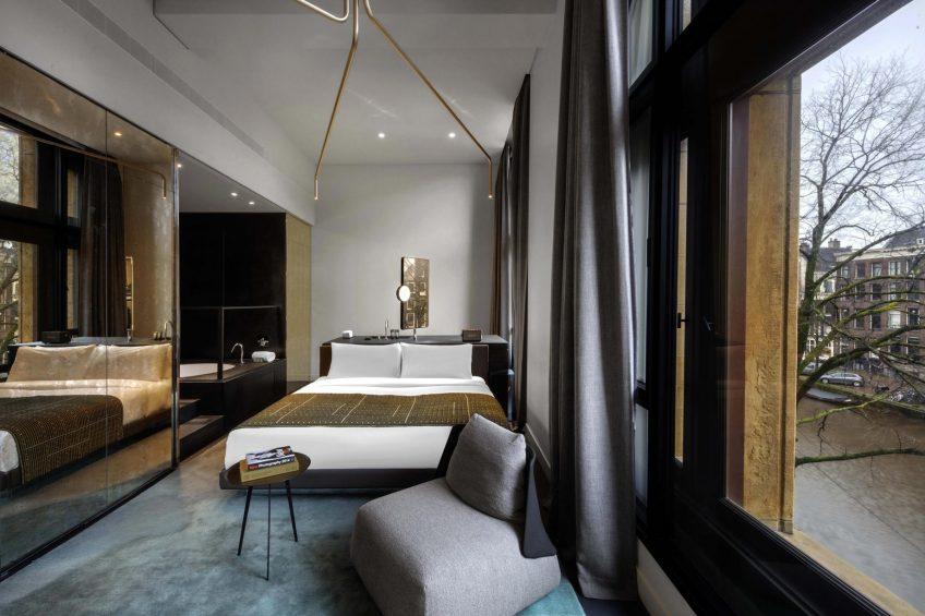 W Amsterdam Luxury Hotel - Amsterdam, Netherlands - Fabulous Bank City Guest Bedroom