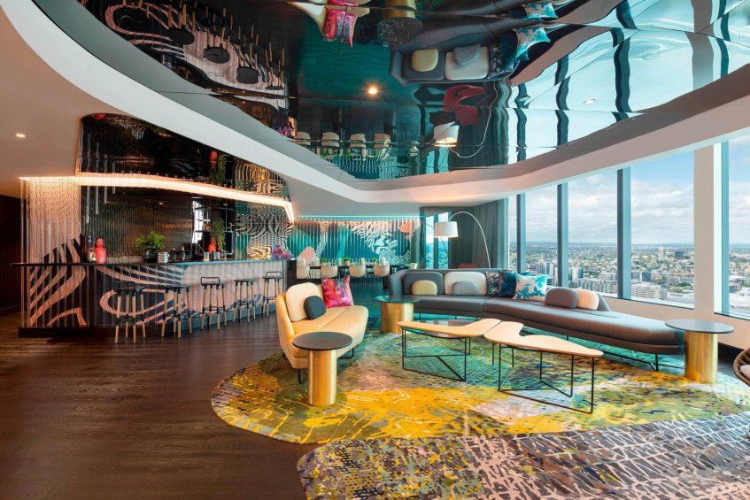 W Brisbane Luxury Hotel - Brisbane, Australia - Extreme WOW Suite Lounge