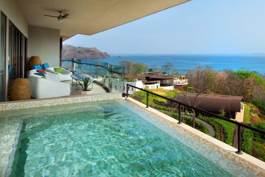 W Costa Rica Reserva Conchal Luxury Resort - Costa Rica - Wow Suite Plunge Pool View