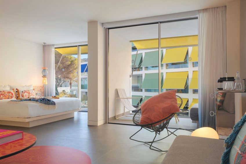 W Ibiza Luxury Hotel - Santa Eulalia del Rio, Spain - Fantastic Suite Bedroom