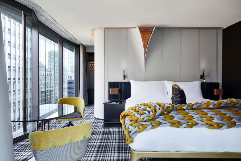 W Melbourne Luxury Hotel - Melbourne, Australia - Fantastic Suite Bedroom