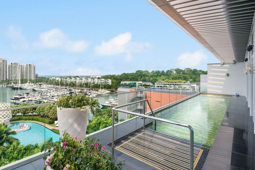 W Singapore Sentosa Cove Luxury Hotel - Singapore - Extreme WOW Suite Plunge Pool