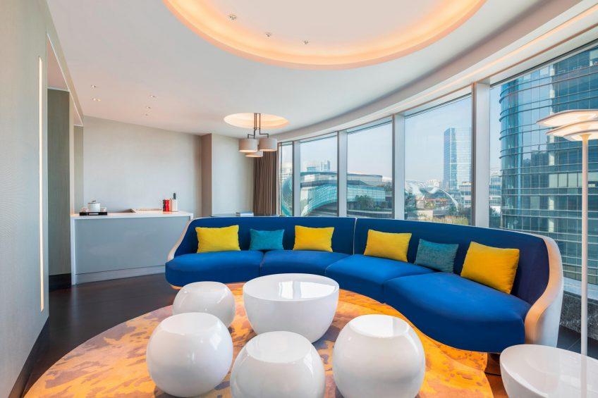 W Suzhou Luxury Hotel - Suzhou, China - Apartment Seating