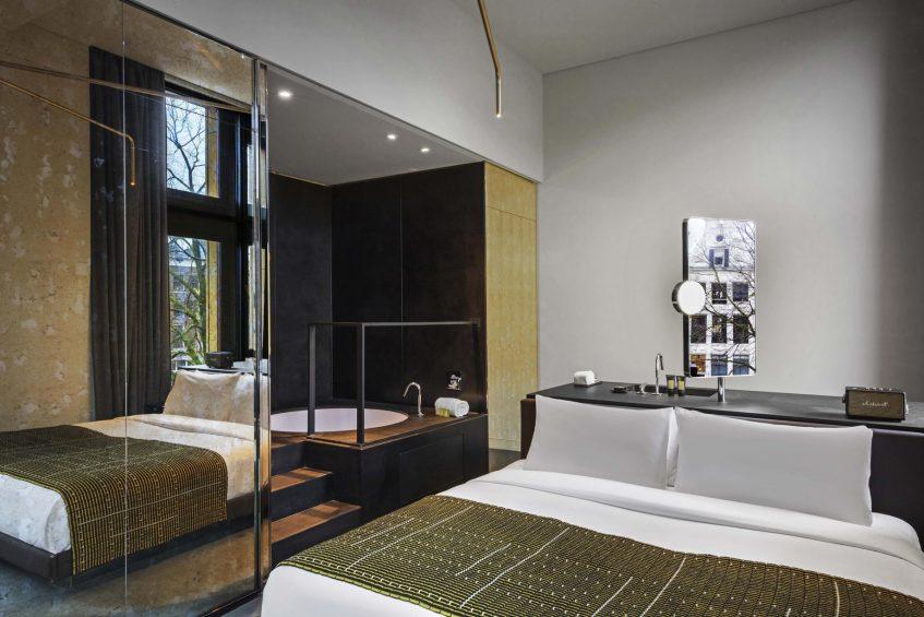 W Amsterdam Luxury Hotel - Amsterdam, Netherlands - Fabulous Bank City Guest Room