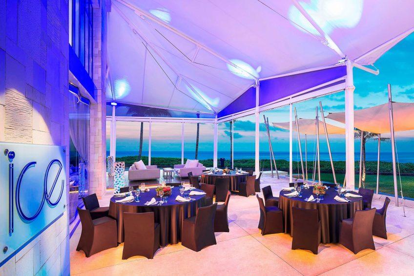 W Bali Seminyak Luxury Resort - Seminyak, Indonesia - Ice Bar Ice Terrace