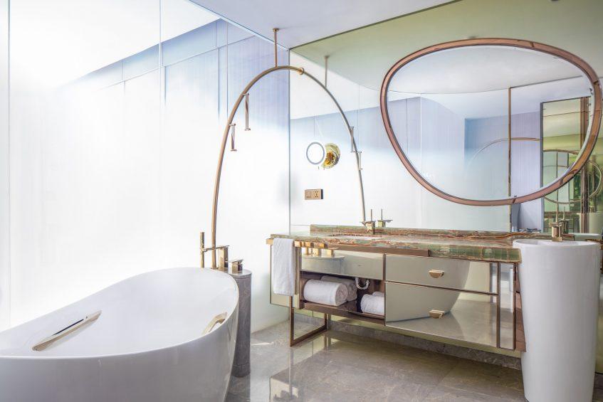 W Chengdu Luxury Hotel - Chengdu, China - Spectacular Bathroom
