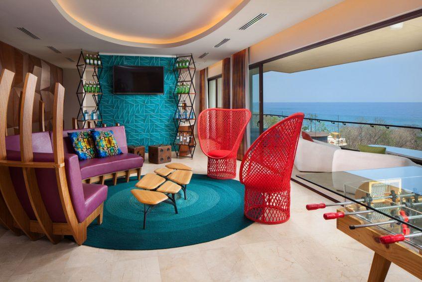 W Costa Rica Reserva Conchal Luxury Resort - Costa Rica - Wow Suite Living Room