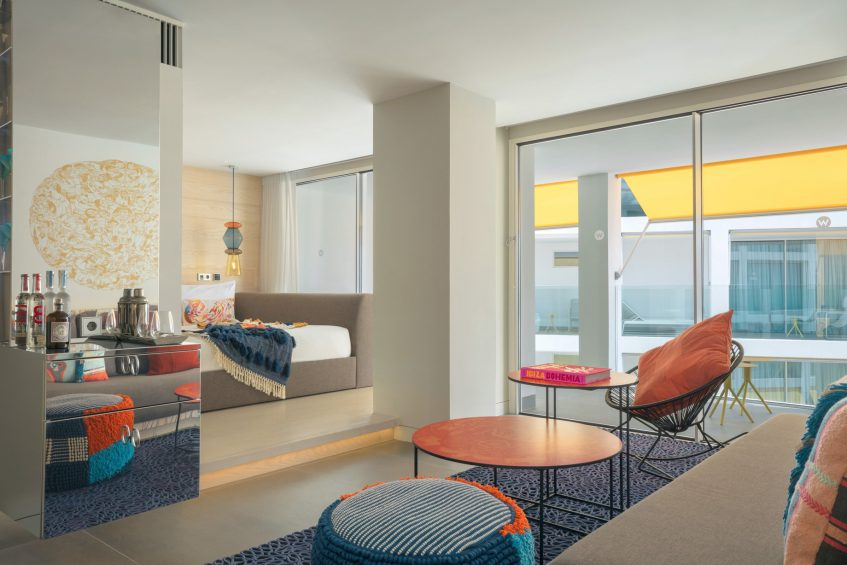 W Ibiza Luxury Hotel - Santa Eulalia del Rio, Spain - Fantastic Suite King