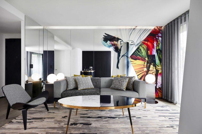 W Melbourne Luxury Hotel - Melbourne, Australia - Fantastic Suite Lounge