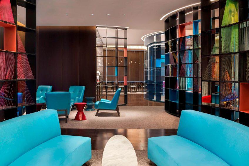 W Suzhou Luxury Hotel - Suzhou, China - Apartment Social Space