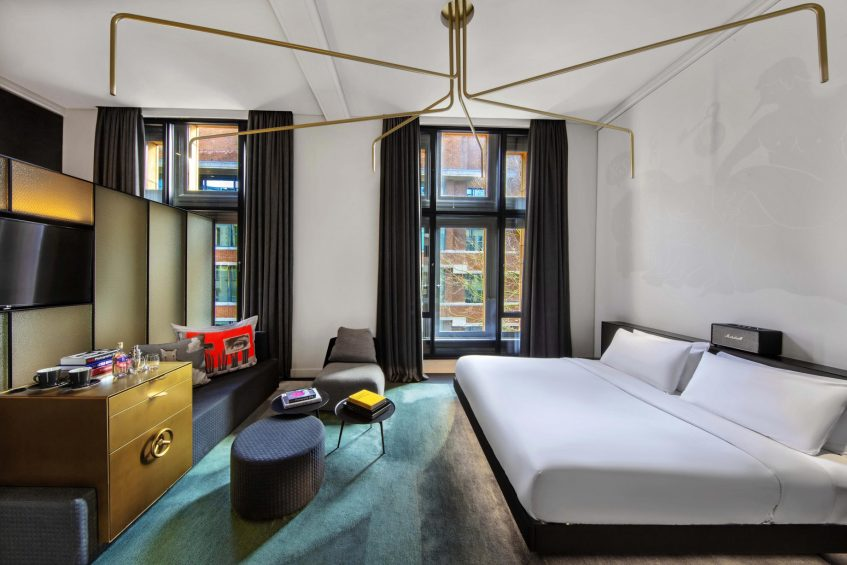 W Amsterdam Luxury Hotel - Amsterdam, Netherlands - Fabulous Bank City View Guest Bedroom King