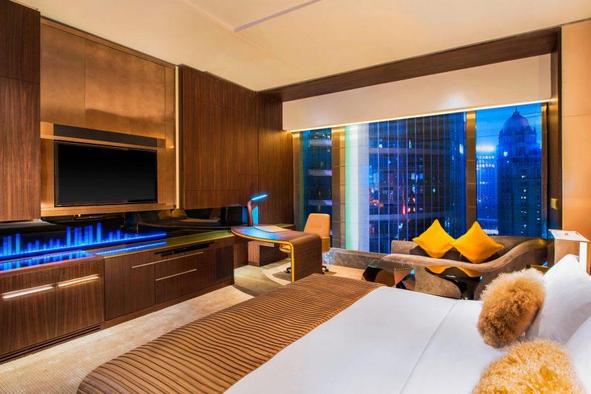 W Guangzhou Luxury Hotel - Tianhe District, Guangzhou, China - Spectacular Design Guest Room Fire Design