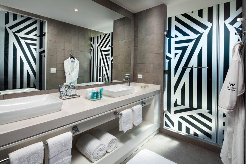 W Panama Luxury Hotel - Panama City, Panama - Suite Bathroom Vanity