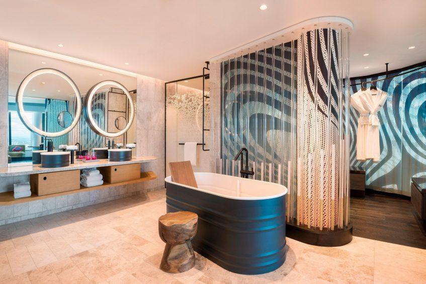 W Brisbane Luxury Hotel - Brisbane, Australia - Extreme WOW Suite Bathroom