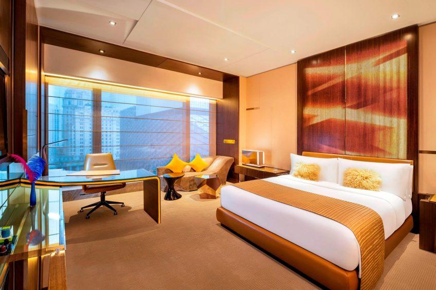 W Guangzhou Luxury Hotel - Tianhe District, Guangzhou, China - Spectacular Design Guest Room Fire