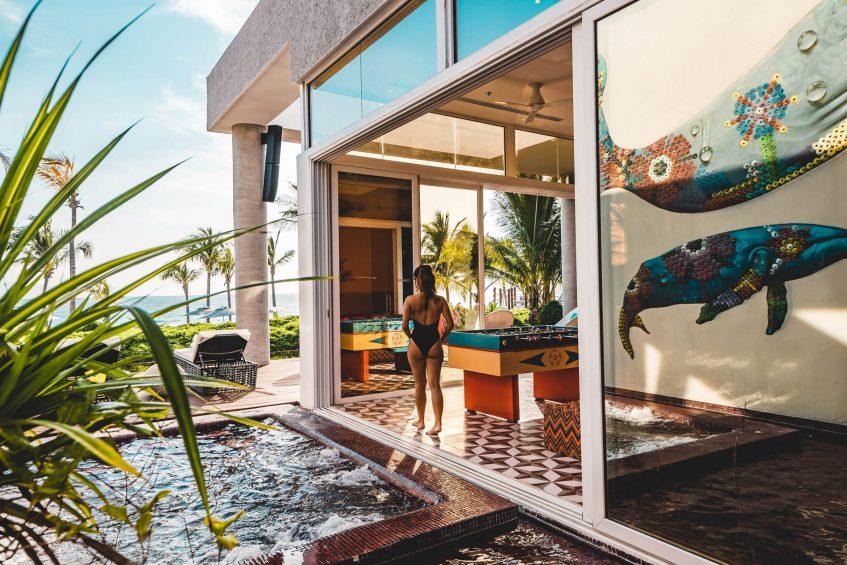 W Punta de Mita Luxury Resort - Punta De Mita, Mexico - E WOW Suite Ocean Front Outdoor Jacuzzi