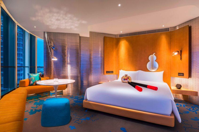 W Shanghai The Bund Luxury Hotel - Shanghai, China - Cool Corner Guest Room