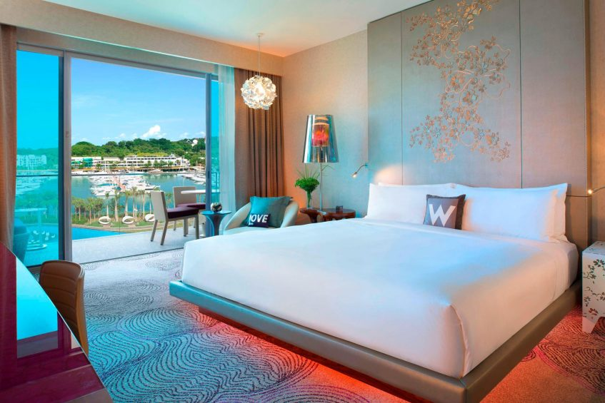 W Singapore Sentosa Cove Luxury Hotel - Singapore - Fabulous King Guest Room