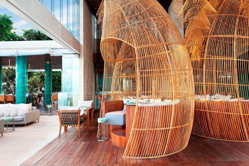 W Bali Seminyak Luxury Resort - Seminyak, Indonesia - Starfish Bloo Restaurant Seating