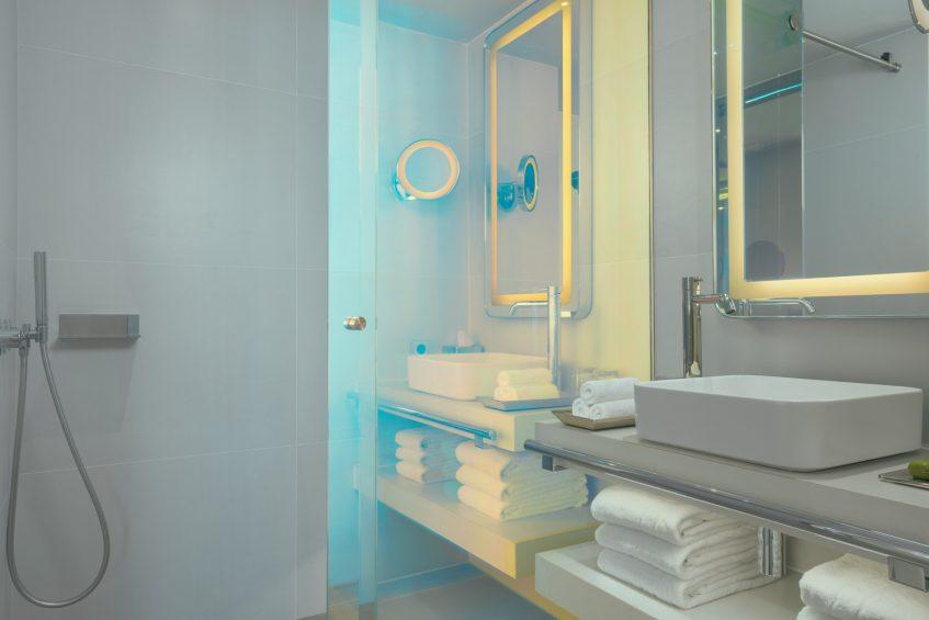W Ibiza Luxury Hotel - Santa Eulalia del Rio, Spain - Guest Bathroom