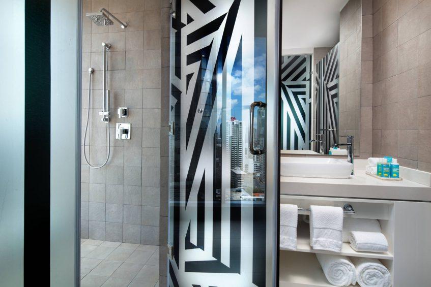 W Panama Luxury Hotel - Panama City, Panama - Suite Bathroom Walk In Shower