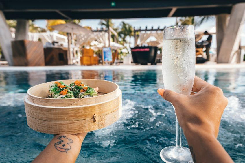 W Punta de Mita Luxury Resort - Punta De Mita, Mexico - WET DECK Food