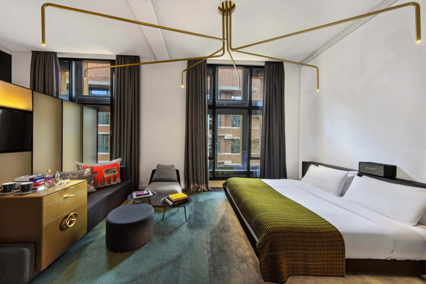 W Amsterdam Luxury Hotel - Amsterdam, Netherlands - Fabulous Bank City View Guest Room King
