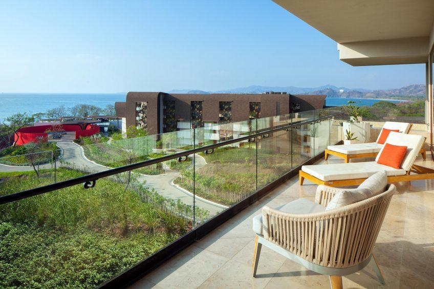 W Costa Rica Reserva Conchal Luxury Resort - Costa Rica - Fantastic Ocean View Suite Balcony View