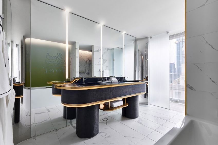 W Melbourne Luxury Hotel - Melbourne, Australia - Marvellous Suite Bathroom