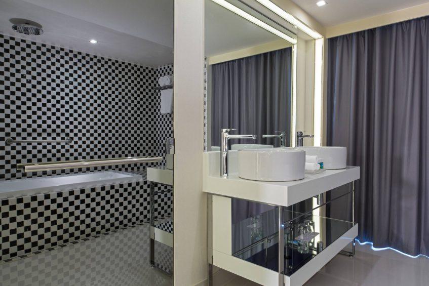 W Mexico City Luxury Hotel - Polanco, Mexico City, Mexico - Suite Bathroom Vanity