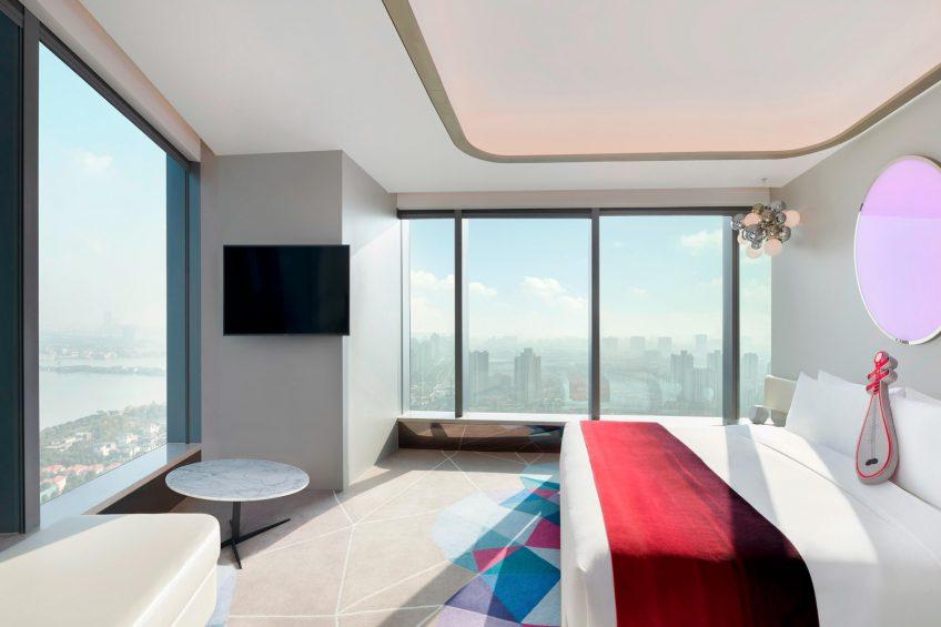 W Suzhou Luxury Hotel - Suzhou, China - Cool Corner Suite King