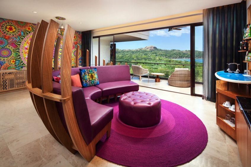 W Costa Rica Reserva Conchal Luxury Resort - Costa Rica - Fantastic Ocean View Suite Living Area