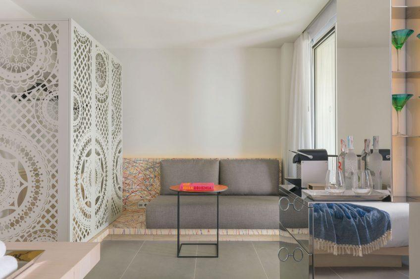 W Ibiza Luxury Hotel - Santa Eulalia del Rio, Spain - Sitting Area