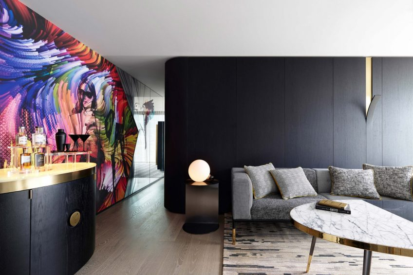 W Melbourne Luxury Hotel - Melbourne, Australia - Marvellous Suite Living Area