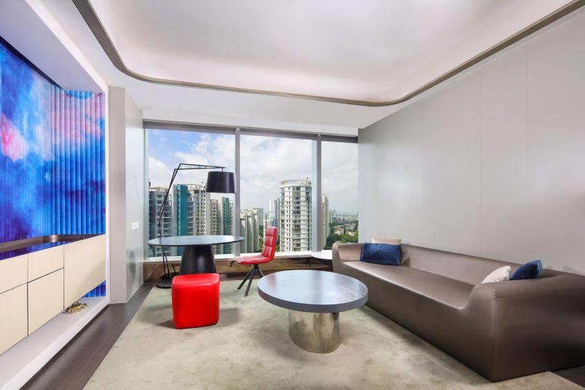W Suzhou Luxury Hotel - Suzhou, China - Cool Corner Suite