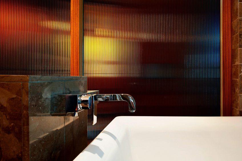 W Taipei Luxury Hotel - Taipei, Taiwan - Cool Corner Guest Room Faucet