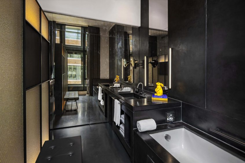 W Amsterdam Luxury Hotel - Amsterdam, Netherlands - Fabulous Bank City View Guest Room